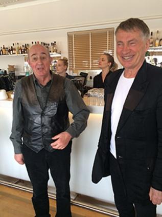 Gamla kursare från Arkitektur Bernt Ohlsson och Lars Asklund